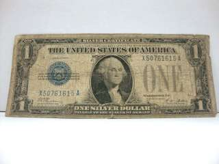 1928 A $1 Silver Certificate Funny Back LOOK
