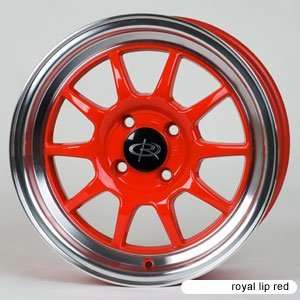 Rota GT3 Royal Lip Red (15x7.0 +40 4x100)    Set of 4