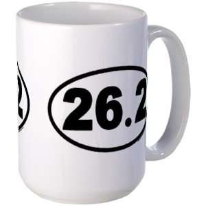 26.2 Marathon Large Coffee Mug Sports Large Mug by