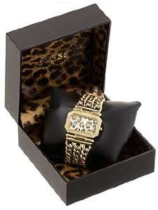 Guess Womens Tiger Chain Bracelet Watch #U12511L1