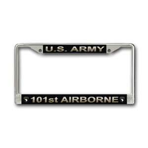 US Army 101st Airborne Division License Plate Frame