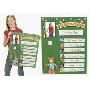 Student Of The Week Pocket Chart   Teacher Resources