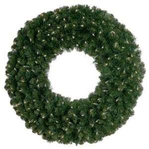 Christmas Wreath   Deluxe Oregon Fir   Pre Lit LED Mini Christmas