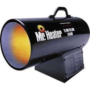 Heater MH125FAV 75,000 125,000 BTU Forced Air Propane Heater