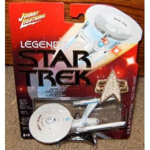 Legends of Star Trek USS Enterprise Refit Series 2 Toys
