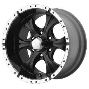 16x10 Helo Maxx (Gloss Black / Machined) Wheels/Rims 6x139