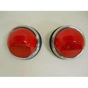 1942 Willys 22 LED Brake Stop Turn Tail Lights   1938 1939 1940 1941