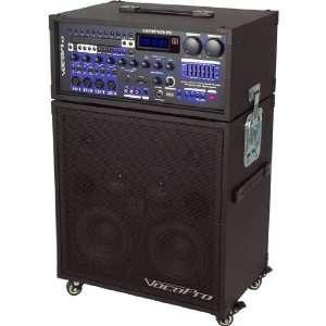 VOCOPRO Portable CD//CD+G mini concert system w/Dual