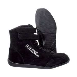 RJS Racing 20209 1 7 Black Size 7 High Top Driving Shoes: Automotive
