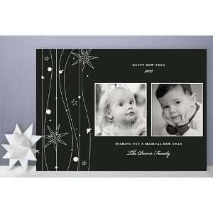 Twilight Stars New Years Photo Cards