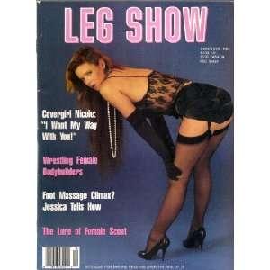 LEG SHOW DECEMBER 1988: LEG SHOW MAGAZINE: Books