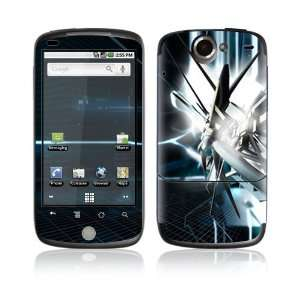 Nexus One Decal Vinyl Skin   Abstract Tech City