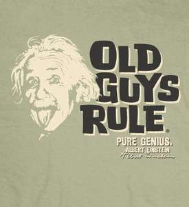OLD GUYS RULE ALBERT EINSTEIN PURE GENIUS COLLECTION