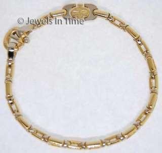 Baraka 18K Yellow & White Gold Bracelet 8