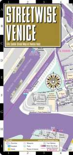 Streetwise Venice Map   Laminated City Street Map of Venice, Italy