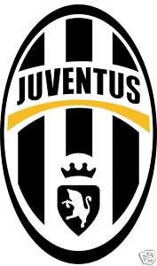 Juventus F.C. FC Italy Soccer Car Bumper Sticker 4X5