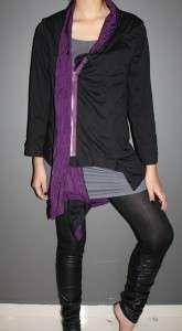 Garcons comme le fashion Reversible Uneven des long outer jacket