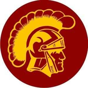 USC trojan football logo sticker decal. 3 diameter