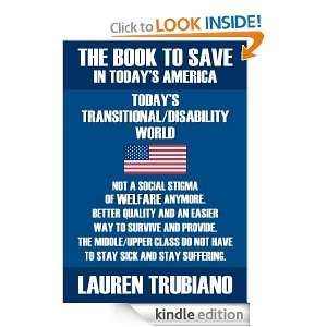 BOOK TO SAVE IN TODAYS AMERICA! TODAYS TRANSITIONAL/DISABILITY WORLD