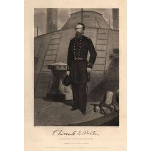 of Admiral David M. Porter by Alonzo Chappel Kitchen & Dining