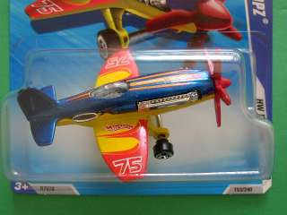 This is a 2010 Hot Wheels Mad Propz Airplane #05. This 164 die cast