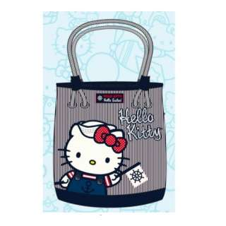 Loungefly Hello Kitty Nautical Shoulder Tote Bag