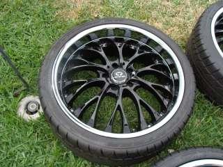 20 Wheels Lorenzo WL 27 Toyota CAMRY   Honda ACCORD   Nissan Maxima