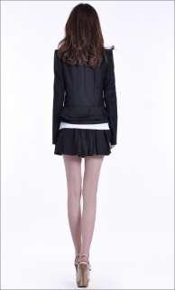 NWT Korean Women Slim Long Sleeve Suit Jacket 0623