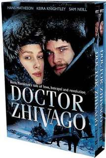 DOCTOR ZHIVAGO New DVD 2002 Miniseries Keira Knightley