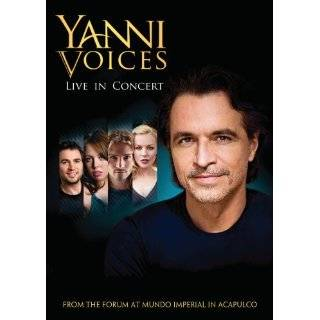 Yanni Voices Live in Concert ~ Yanni ( DVD   Oct. 26, 2009)
