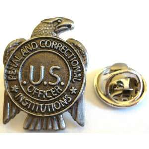 of Corrections Prison Guard Mini Badge Lapel Pin