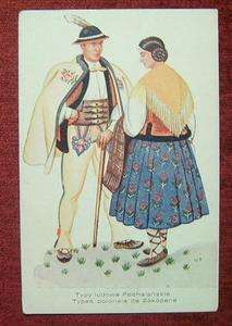 POLAND / ZAKOPANE   TYPE POLAND / ETHNIC   COSTUME / 1930 40