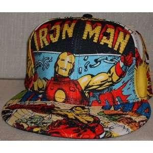 Marvel Comics IRON MAN All Over Print Baseball Cap HAT