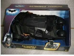 HOT BATMOBILE TUMBLER THE DARK KNIGHT WHEELS VEHICLE DOLL