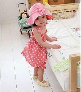 New Super cute pink little 3 Pcs sets Skirt Princess dress (Dress
