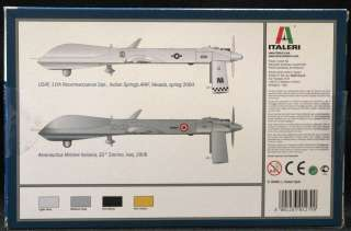 predator drone company italeri stock number 1279 scale 1 72 condition