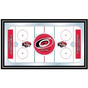 NHL Carolina Hurricanes Framed Hockey Rink Mirror