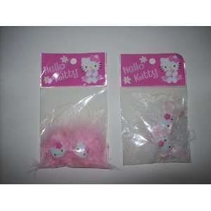 Hello Kitty Hair Accessory Clip Barrette SET OF TWO