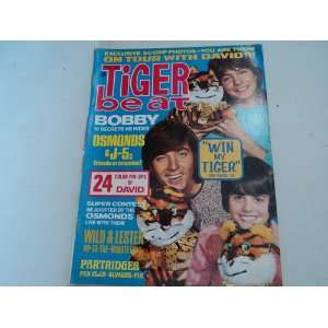 Sherman, Susan Dey, Barry Williams, David Cassidy) Tiger Beat Books