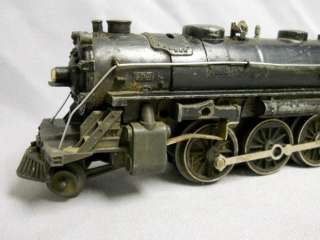 Vintage Lionel Model 027 No.1666 Train Engine 2 6 4 Steam Locomotive
