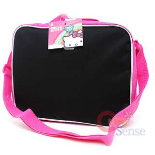 Kitty School Lunch Bag / Insulated Snack Box Kitty Outlines