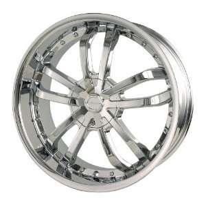 Veloche Verso (Chrome) Wheels/Rims 5x110/115 (515C 7711) Automotive