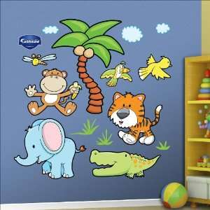 Jungle Animals Group Two Wall Graphic