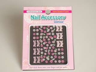 3D Design Nail Art Stickers, Choose your design, 2+2 (made in