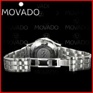 Movado 1881 Men Day Date Blue Automatic Reserve Watch