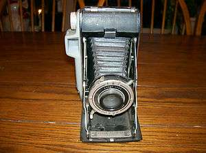 Kodak Tourist Folding Camera. Kodet Lens. Flash Kodon Shutter. Nice