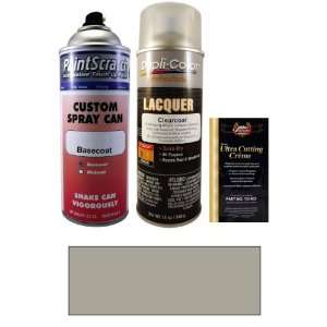 12.5 Oz. Palladium Silver Metallic Spray Can Paint Kit for