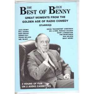 FROM THE GOLDEN AGE OF COMEDY (AUDIO CASSETTE) JACK BENNY Books