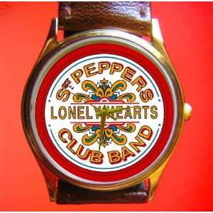 Sergeant Pepper Lonely Hearts Club Band Wrist Watch
