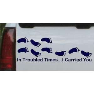 Carried You Christian Car Window Wall Laptop Decal Sticker Automotive